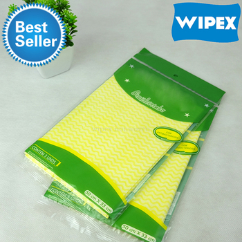 Disposable spunlace non woven wipe for table cleaning to replace CHUX