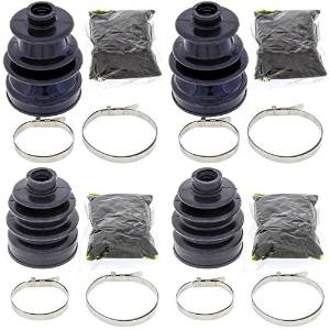 Complete Rear Inner & Outer CV Boot Repair Kit for Yamaha YFM700 Grizzly 2009-2015 All Balls
