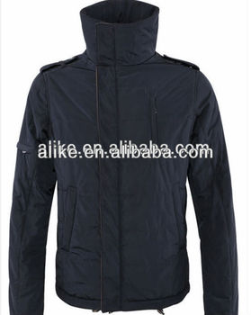 2bd89a9c Мужские зимние пальто теплая стоячим воротником ветровка Толстая стеганая  куртка на молнии Зимняя куртка человек