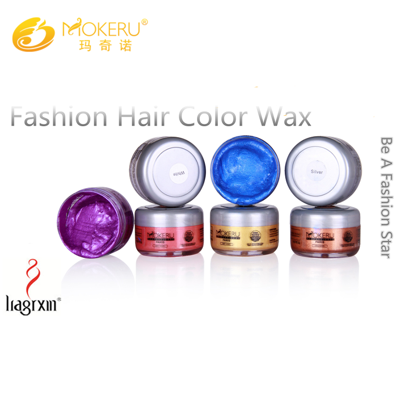 OEM Temporary fashion hair styling wax for men