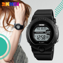 2017 Fashion vogue ladies plastic strap wristwatches SKMEI 1334 female digital sport watch