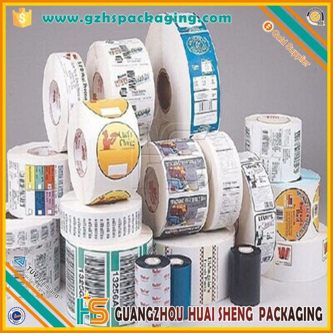 Custom Private Label Food Label Sticker, Adhesive Sandwich Labels,Packaging Food Custom Logo Printed Sandwich Labels