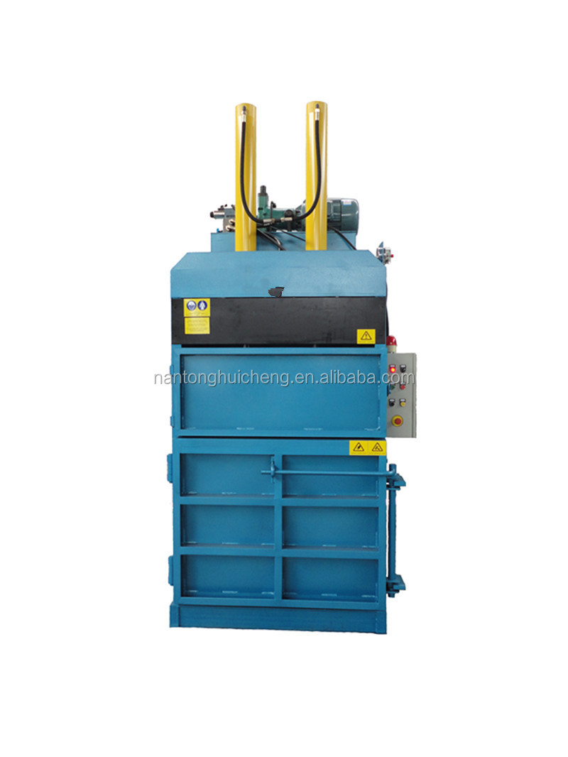 Robust Dedicated Scrap Tire Rubber Press Baler Machine