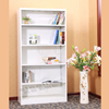 Factory price home furniture self assembly bookcases / wholesale corner book shelf