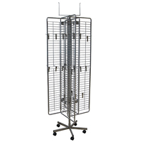 Best quality promotional gloves rack metal display stand hooks For sale