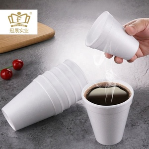 hot sell disposable eps 8oz plastic coffee foam cup