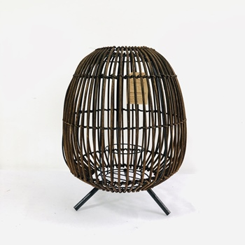 Special hand woven black rattan lampshade from China