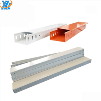 manufactured network powder coated cable trunking size in Shanghai