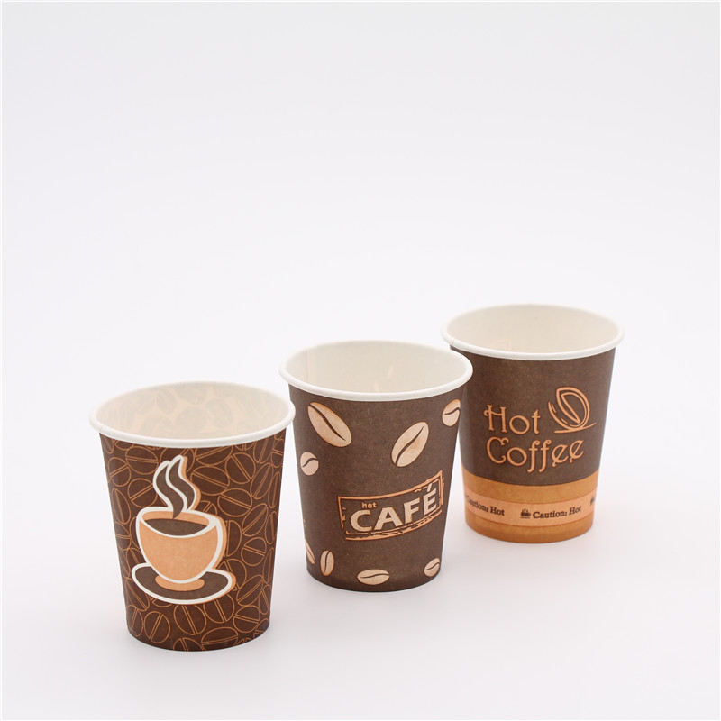 import food grade disposable hot drink coffe paper cup from china