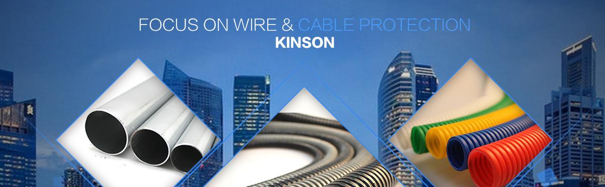 Jiangsu Kinson Conduit Industry Co., Ltd. - Plastic coated flexible ...