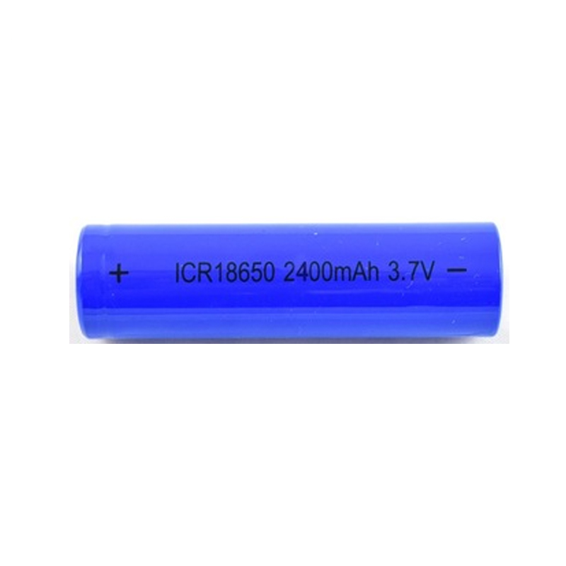 Hot sale  rechargeable li-ion 18650 3.7V2400mah battery