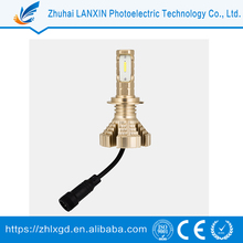 Wholesale In China gold-H7 led auto light bulbs for sale
