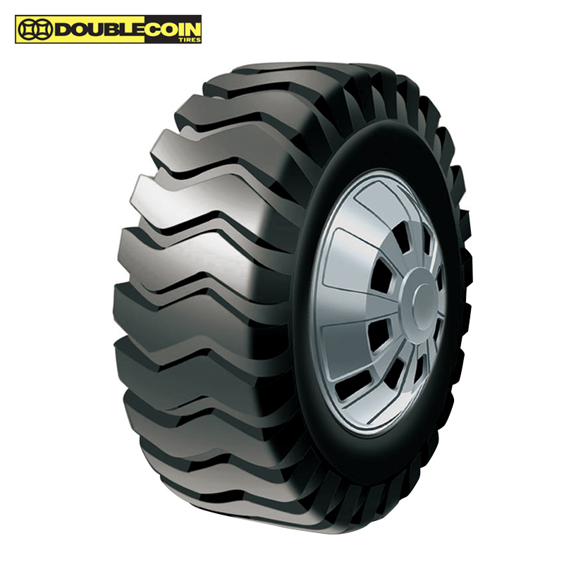 Double Coin Brand new Bias OTR truck tires for 25' inch wheels for mining