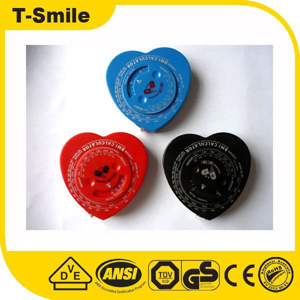 T-SMILE Bmi Calculator Tape Measure Waist Tape Measure