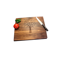 Eco-Friendly wooden chopping board kitchen bamboo printing cutting board
