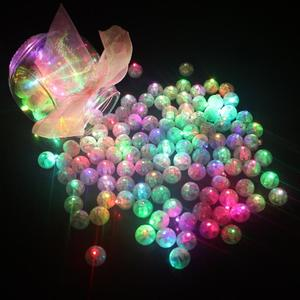 2018 new Round Led RGB Flash Ball Lamps Balloon Lights for Lantern Christmas Wedding Party Decoration