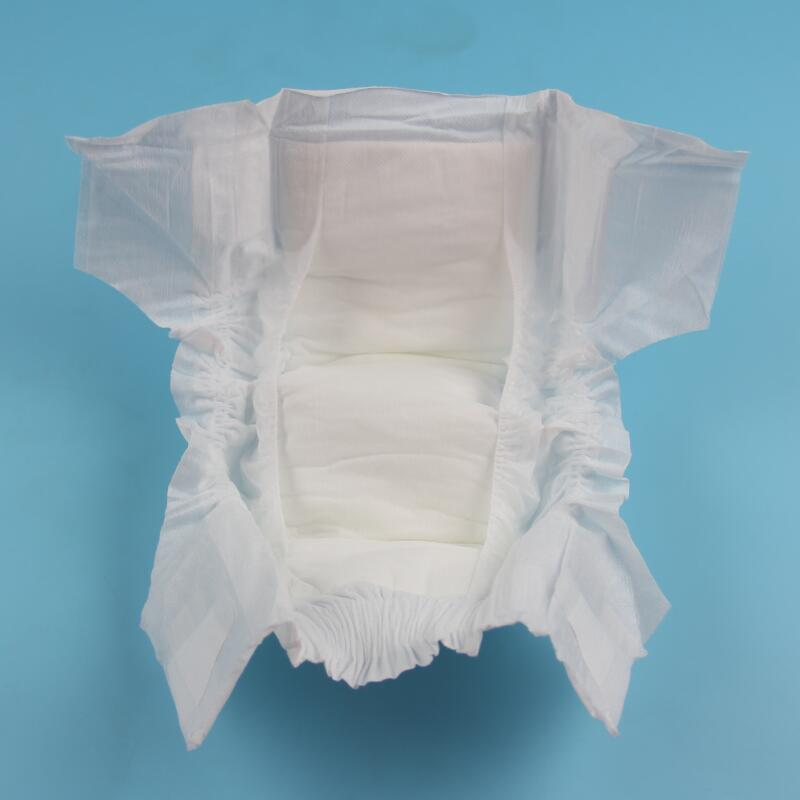 New Design Breathable Disposable Biodegradable PLA Corn Film Paper Diaper For Baby