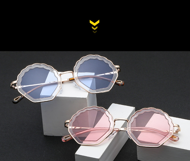 Best womens gold sunglasses Suppliers for sport-7