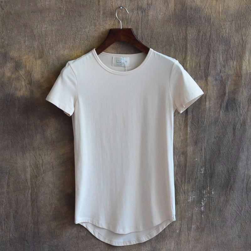 Men 39 s longline custom online shopping fashion clothing t for Online shopping men t shirt