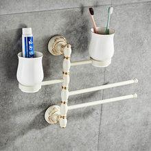 Полка для хранения на 360 градусов вращающаяся стойка для полотенец домашняя стойка для хранения Органайзер Для Ванной Принадлежности(Китай)