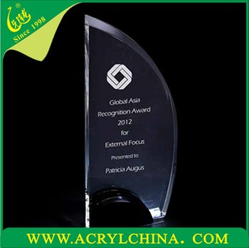 2015 Acrylic Trophy New Design Crystal Award Champions League