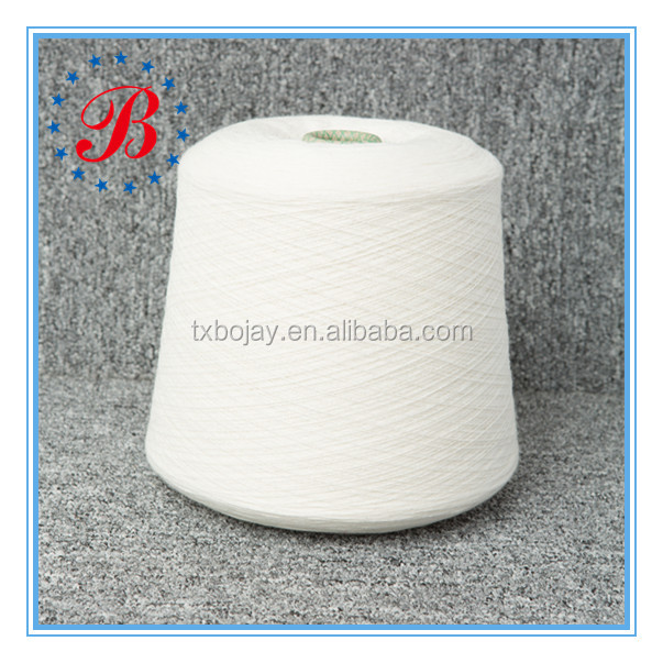 100 Percent Cotton Raw White Carded Yarn