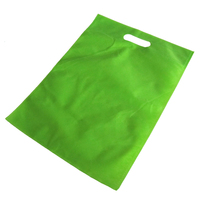 wholesale cheap customized recycled die cut 40 gsm non woven bag