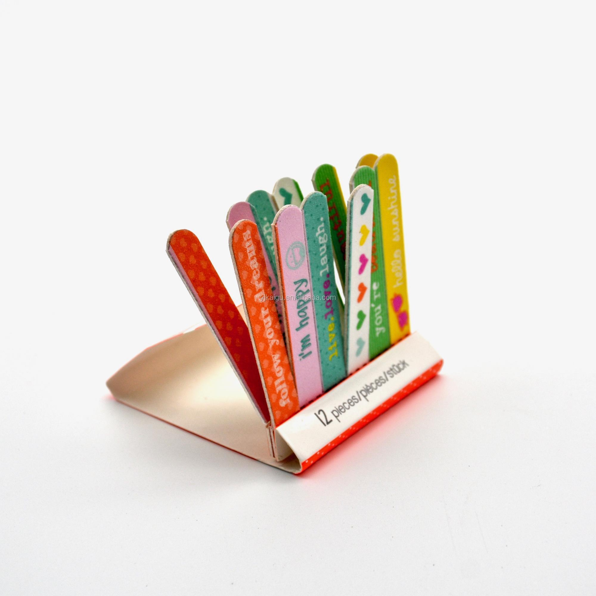 Venta al por mayor lima de uñas caja de cerillas-Compre online los ...