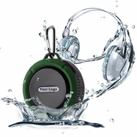 2019 hot selling Outdoor Waterproof Bluetooth speaker Music Player/Gifts Gadget/outdoor wireless shower Speaker