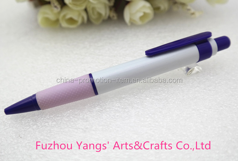 Comfortable light colorful beautiful soft handle point touch pen