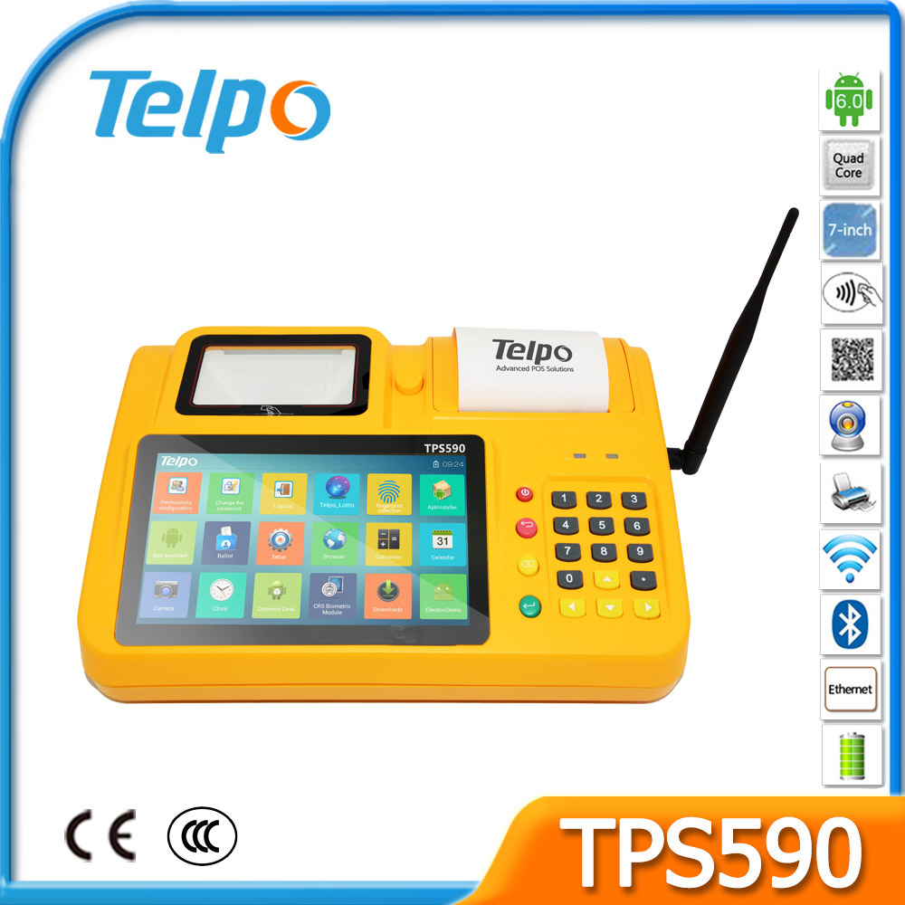 Programmable Control Tax Management Android Best Point Of Sale System Fiscal Control Functions TPS590
