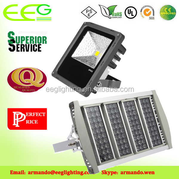 Outdoor and indoor IP65 Waterproof LM79 UL CUL DLC SAA CB TUV-GS led flood light 50w