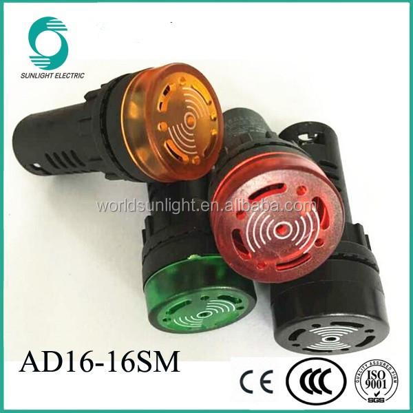 Ad16-16mfd 16mm Hole Size 220v Small Warning Alarm Buzzer