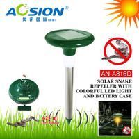 Aosion Patent High Demand Market Outdoor Garden Yard Farm snake repellent home depot with LED light