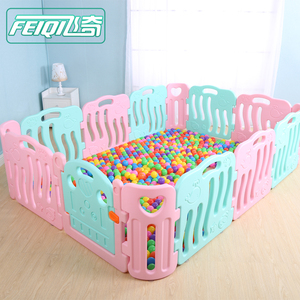 Good quality kids plastic play fence baby playpen for european standard
