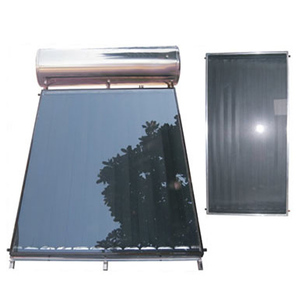 Compact Pressurized Flat Plate Solar Panel Hot Water System