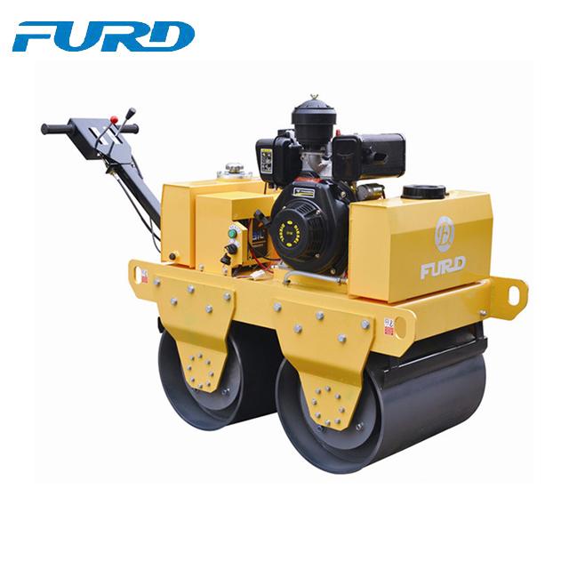 High quality diesel engine walk behind double drum vibrator roller bomag (FYL-S600C)