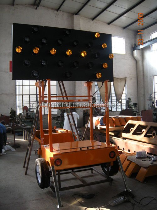 Trailer Mounted Arrow Board For Traffic Control