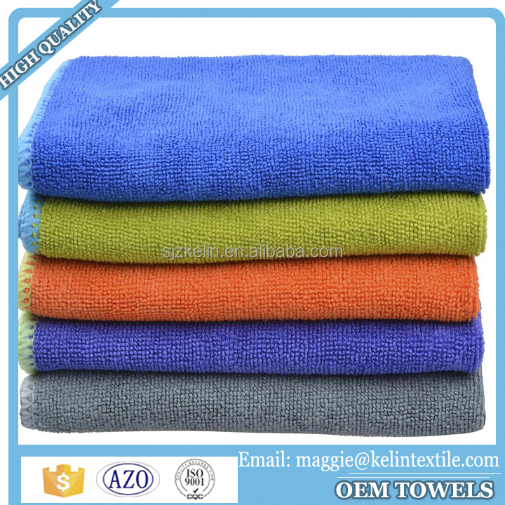 High Quality 350gsm OEM Microfiber Cleaning Cloths for Japan market