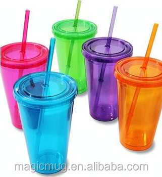 Christmas Promotional Items Double Wall Plastic Cup Plastic Tumbler With  Lids And Straws, View Plastic Tumbler, Mugbaby Product Details from  Shenzhen
