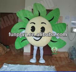 2015New mascot adult flower costume/carnival costume/fanny costume