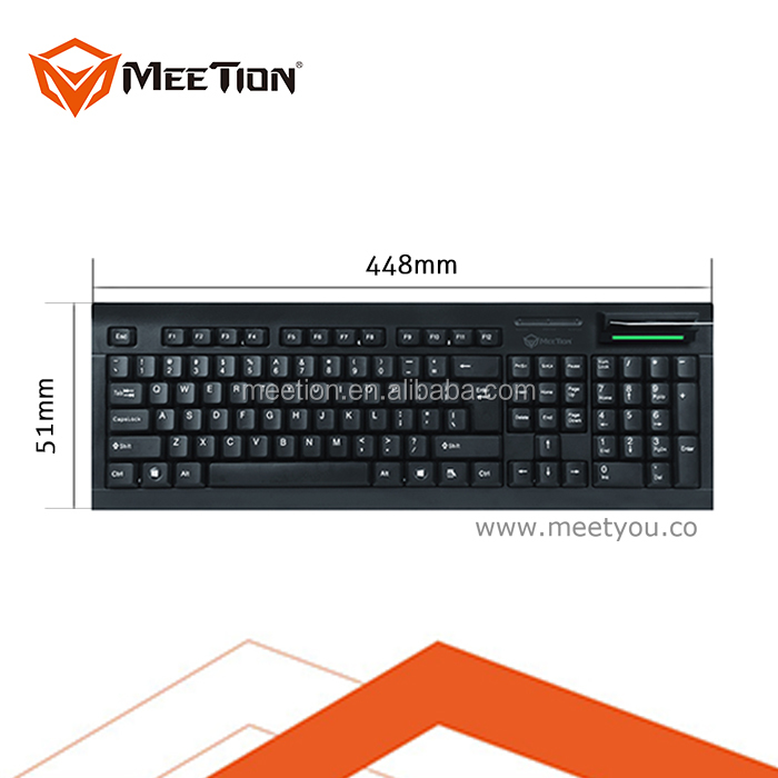 2016 Private Tooling IC Card Reader Keyboard with Smart Card Reader Function Keyboard For Sale