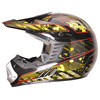 China DOT approved youth Off road helmet ATV motorcycle casco motocross helmet