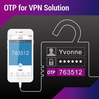 One time password for vpn solution