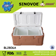 40L Brown color Cool Boxes portable plastic coolerboxes large capacity cooler box hot selling