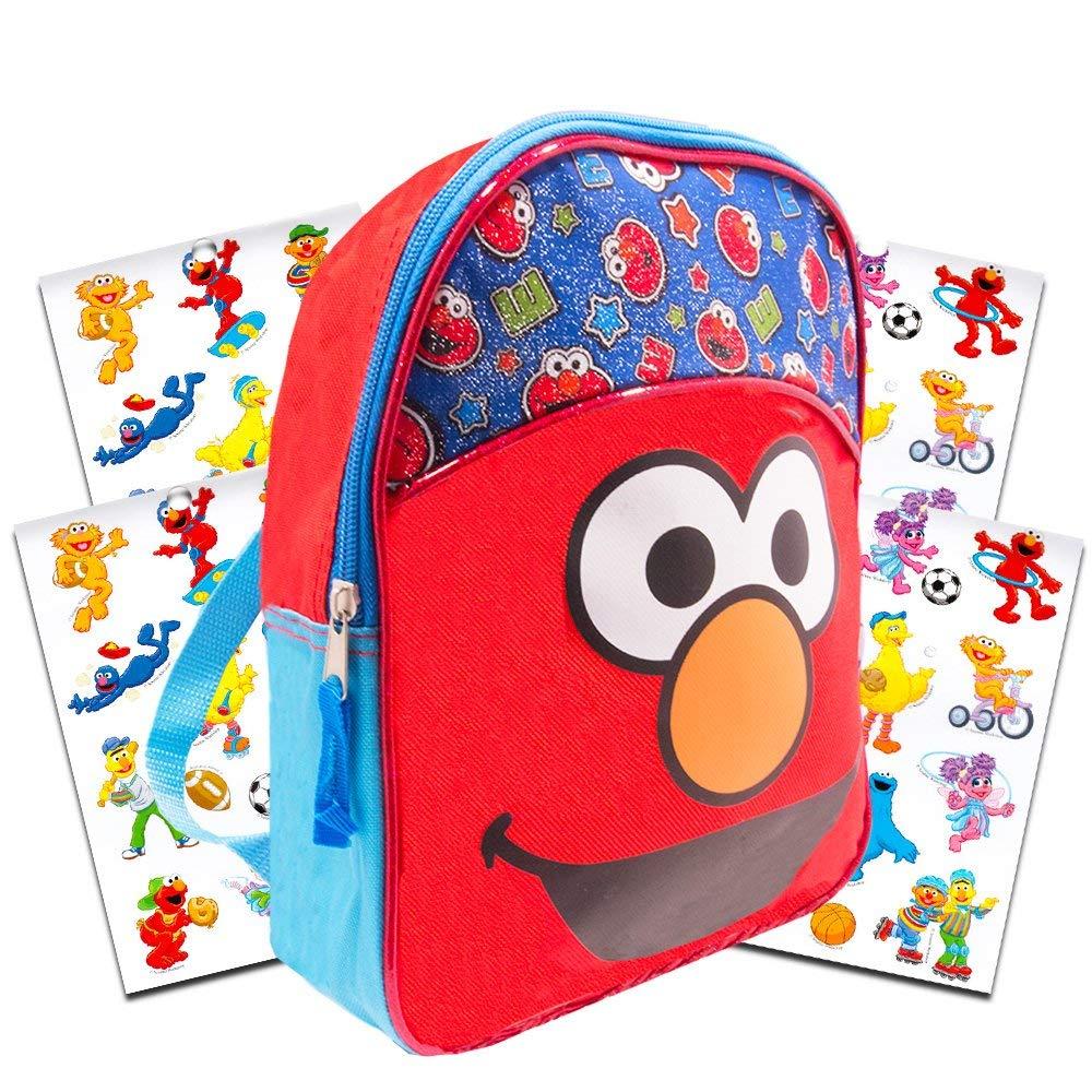 """Sesame Street Elmo Preschool Backpack Toddler (11"""" Mini Backpack)"""