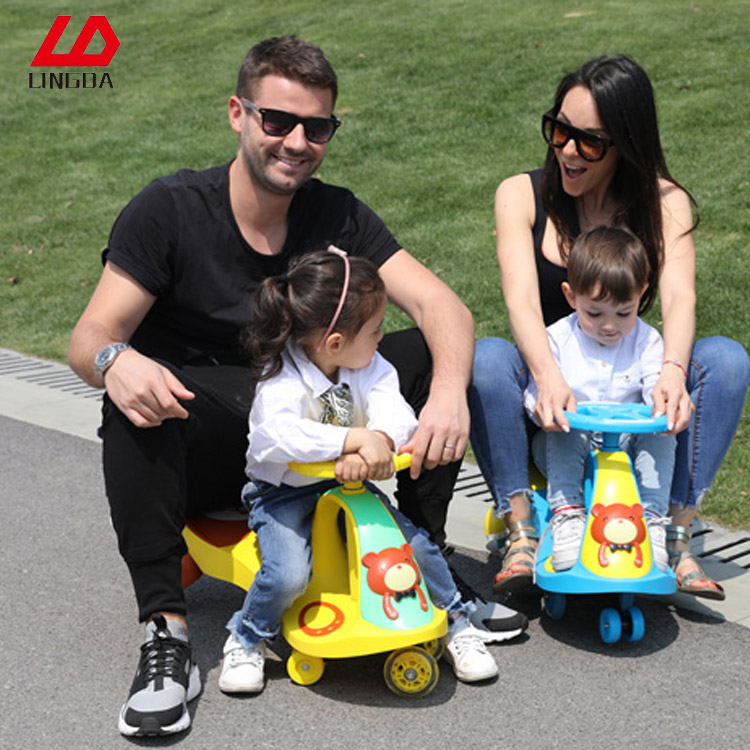 Baby Carrier 2017 Colorful Original Swing And Rotating Amusement Car