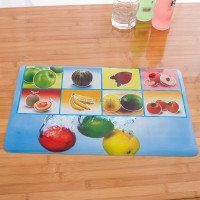 wine cake cup laser pp place mat/table mat set