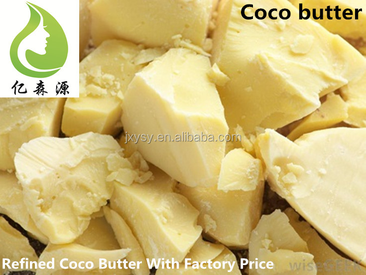 Good Quality Unrefined Cocoa Butter No Additive Deodorized Cacao Butter