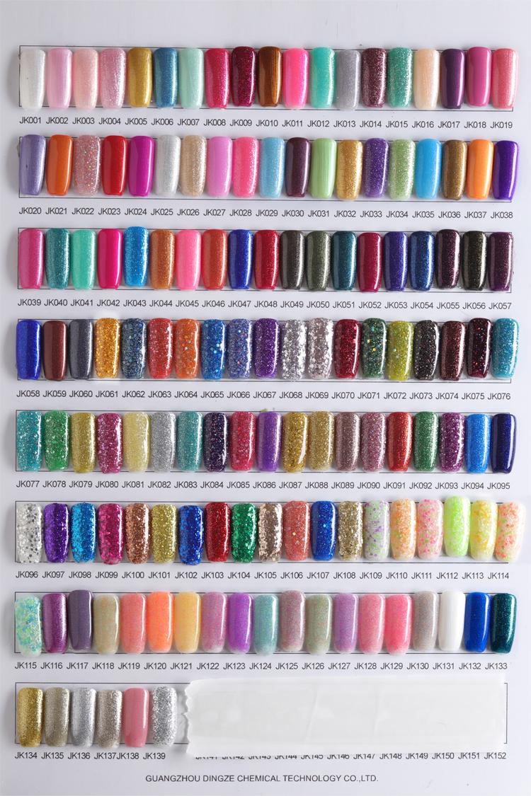 Dingze del chiodo forniture alla rinfusa commercio all'ingrosso globale di modo UV Gel soak off nail art vernice di colore 1770 nail polish LED UV gel